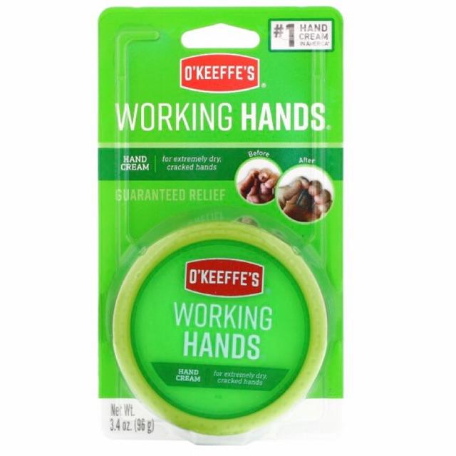 working hands cream