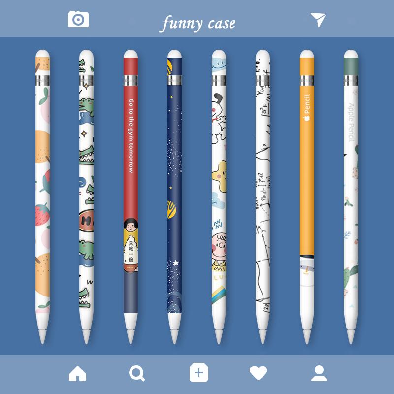 ☧≠ปากกา ปากกาน้ำเงิน [สครับ] ปากกาแอปเปิ้ล applepencil รุ่น1รุ่น2 2ป้องกันลื่น ipadpencil ปลายปากกาเคสปากกา ipencil กล่อ
