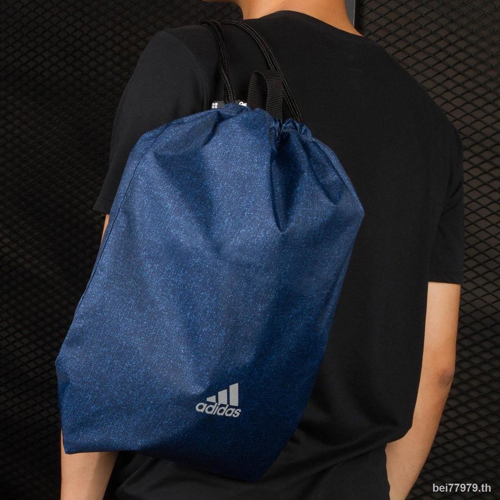 ❅♀Adidas/Adidas genuine men s and women bags new drawstring pocket closure backpack CF5215