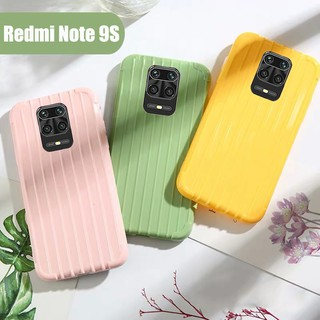 Review Xiaomi Redmi Note 9S 9 Pro 9 S Note 8 Pro Xiaomi Mi 8 Lite Mi 10 Pro Mi9 MiA3 Mi 9T Pro Redmi K30 K20 Candy Color Suitcase Trunk Soft TPU Silicone Phone Cases Cover