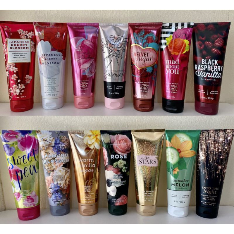 Bath And Body Work Body Cream