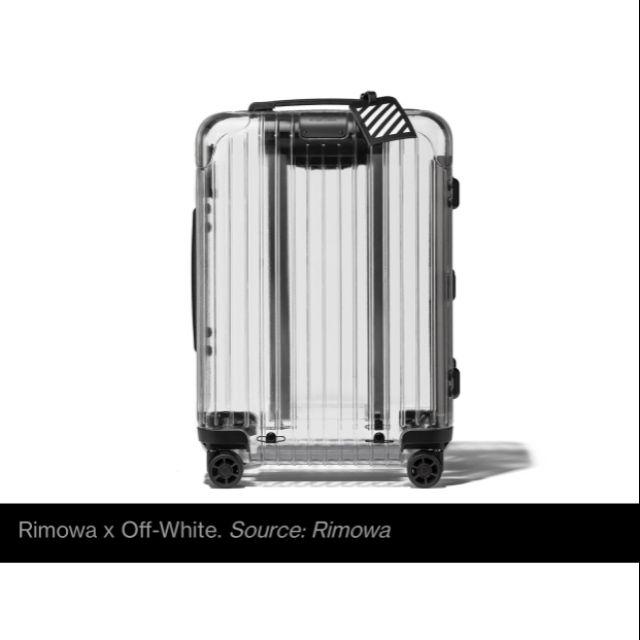 กระเป๋าเดินทาง Off-White x Rimowa