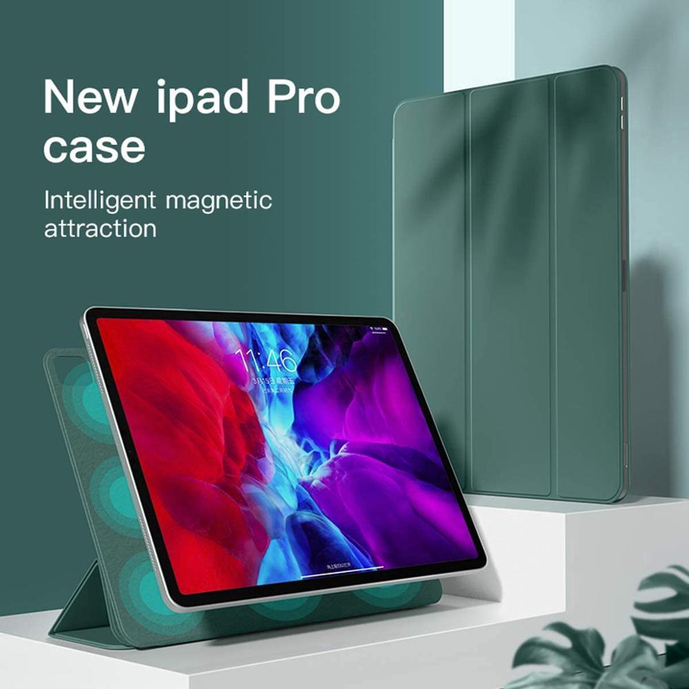 เคส IPad Pro 11 2020 Case Pro 2020 12.9 2nd 2nd Generation, เคสแม่เหล็กที่แข็งแกร่ง Capa Funda รองรับ Apple Pencil