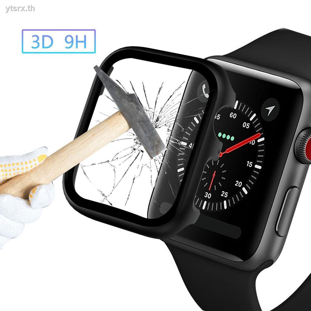นาฬิกาข้อมือ Apple Watch Seriesพร้อมกระจกนิรภัยป้องกันหน้าจอพร้อมส่งจากไทย เคส Apple WatchApple Watch 5th generation Applewatch protective case, metal case and tempered film integrated iwatch4 cover