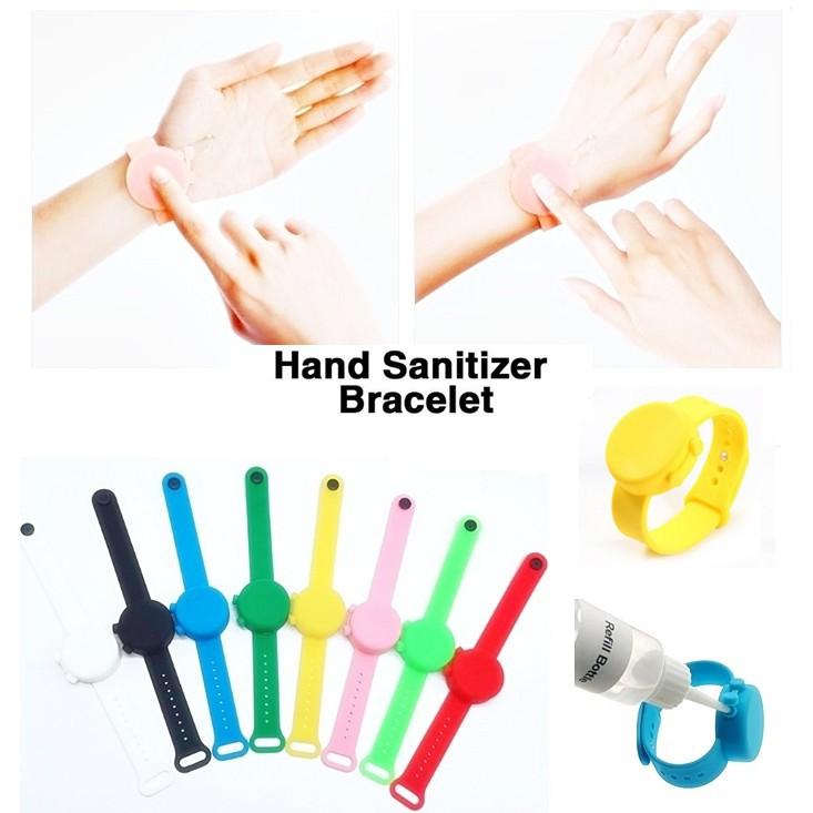 havit watch เด็ก สายรัดข้อมือใส่เจลล้างมือ นาฬิกาใสเจลล้างมือ Hand Sanitizer Bracelet