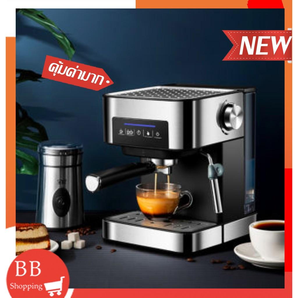 เครื่องทำกาแฟกึ่งอัตโนมัติ เครื่องชงกาแฟ เครื่องชงกาแฟเอสเพรสโซ เครื่องชงชากาแก เครื่องชงกาแฟในบ้าน