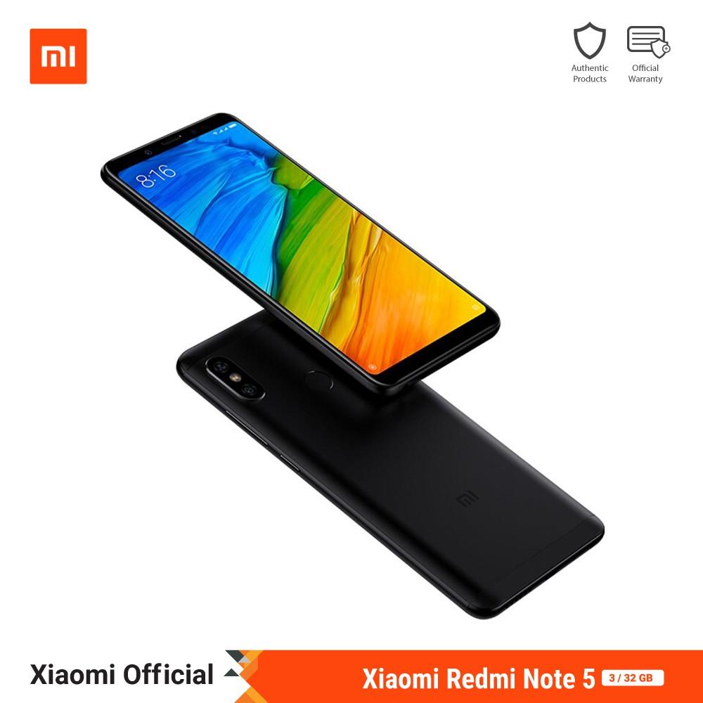 Xiaomi Redmi Note 5 (3GB+32GB) ประกันศูนย์ไทย 1 ปี   Shopee