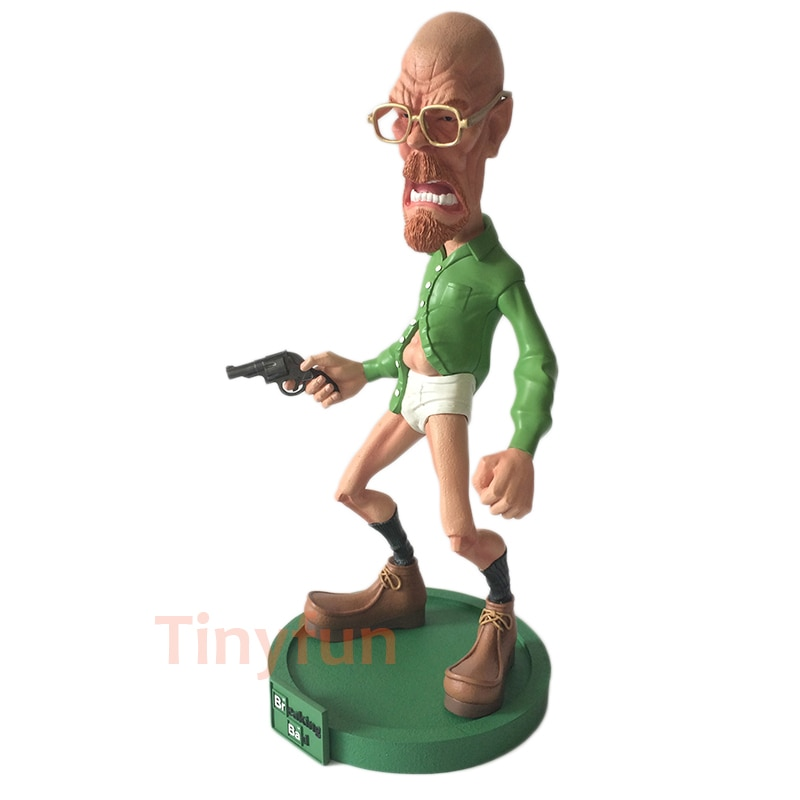 Tinyfun Breaking Bad Walter White Resin Action Figure 1/6 scale painted figure Mr. White Resin figure Garage Kit Toy Bri