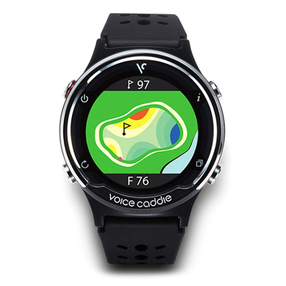 Voice Caddie T5 Hybrid Golf Watch GPS Rangefinder English Language Mode with English Manual