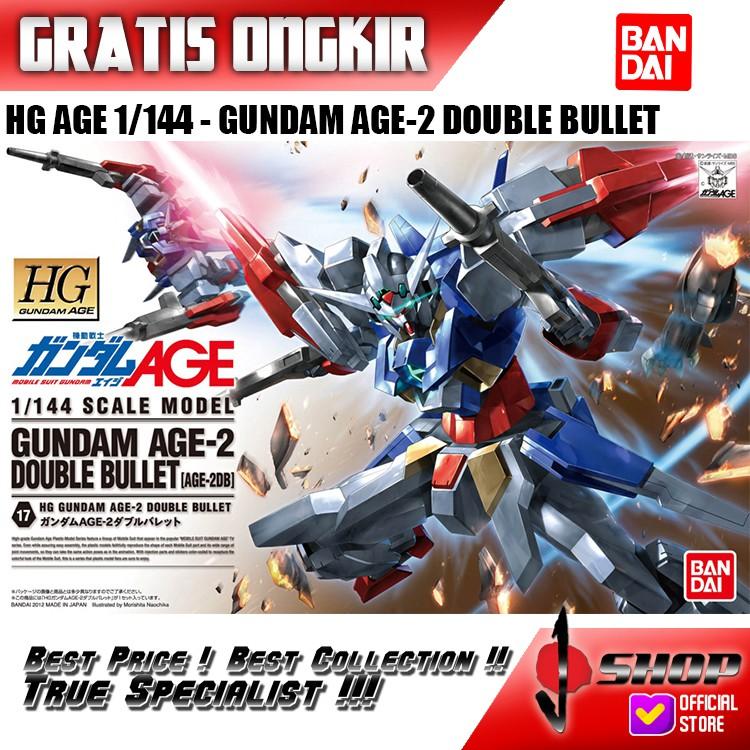 Hg Age 1 / 144 Gundam Age-2db กระสุนคู่ของเล่นสําหรับเด็ก