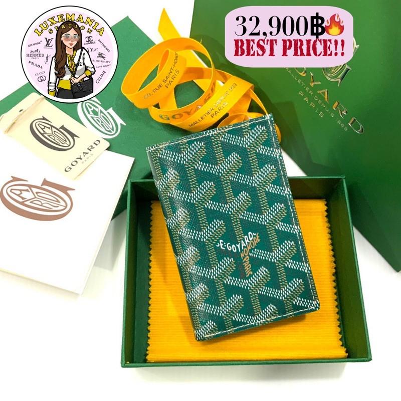 """👜: New!! Goyard 6 Cards Wallet 4.5"""" x 3""""‼️ก่อนกดสั่งรบกวนทักมาเช็คสต๊อคก่อนนะคะ‼️"""