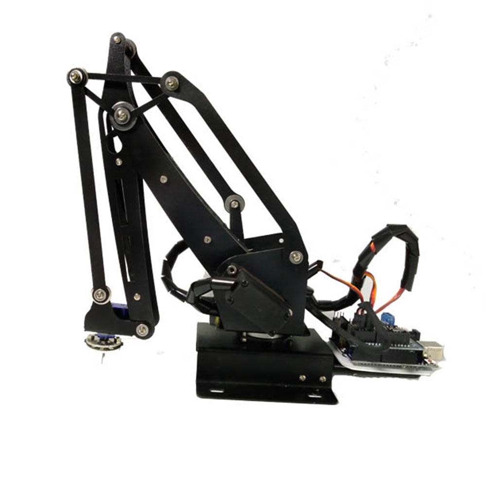 Pump RC Robot Arm Robot Art With Servo For Arduino/16-way bluetooth Control
