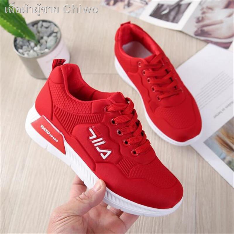 รองเท้าผู้ชาย๑❖❒Women's sneakers Filaรองเท้าผ้าใบแบรนด์เนมรองเท้ากีฬาผู้หญิงรองเท้าวิ่ง2 สี