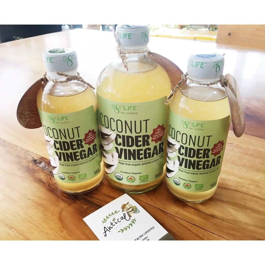 Coconut Cider Vinegar (CCV)