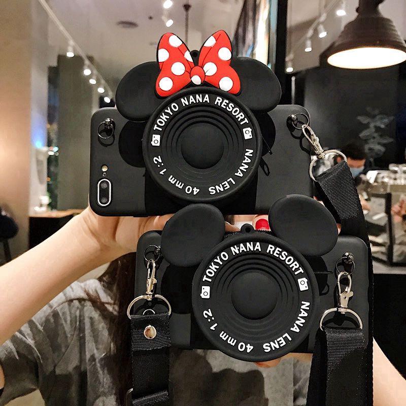 Casing Soft Case Samsung Galaxy a510 a520 A9 Pro A5 A6 A8 Plus a750 A7 a920 A51 Motif Mickey Minnie Mouse การ์ตูน