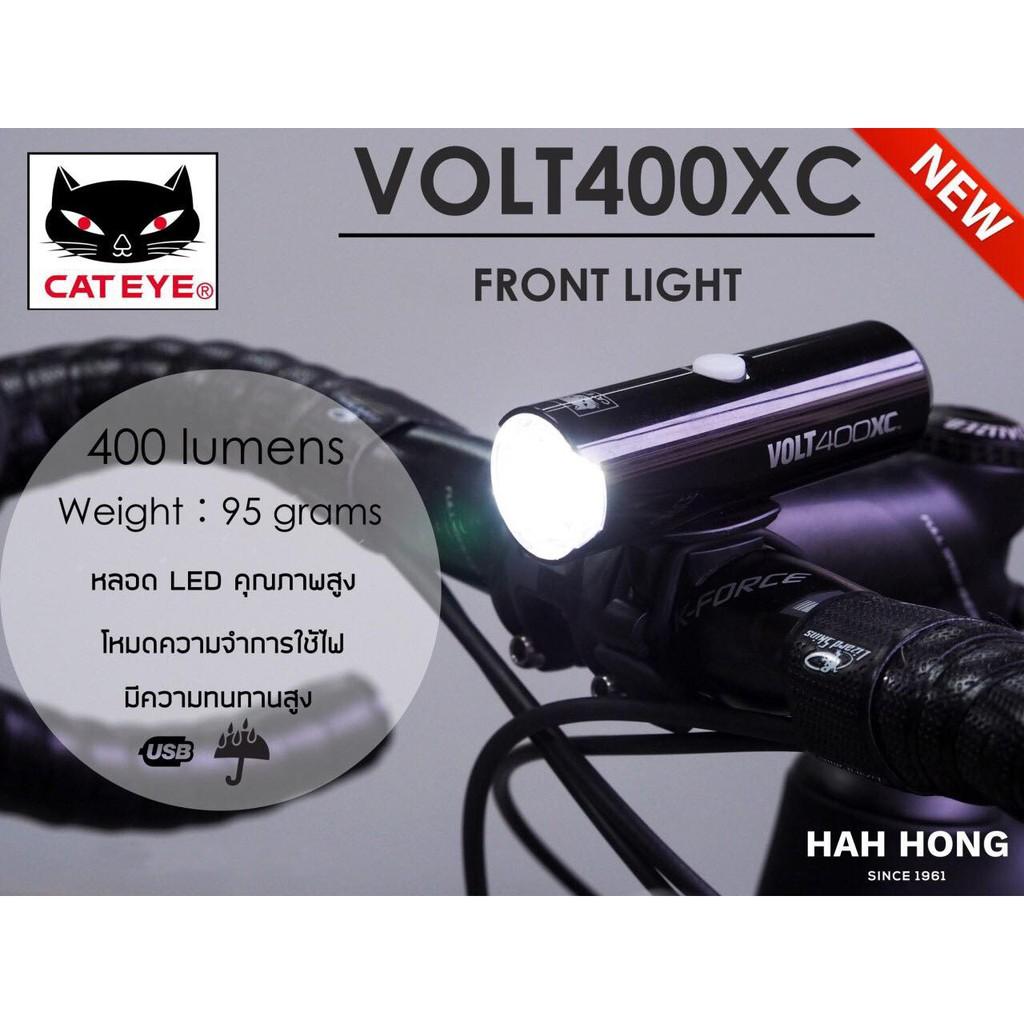 Light Cateye HL-EL080RC Volt 500XC USB Black
