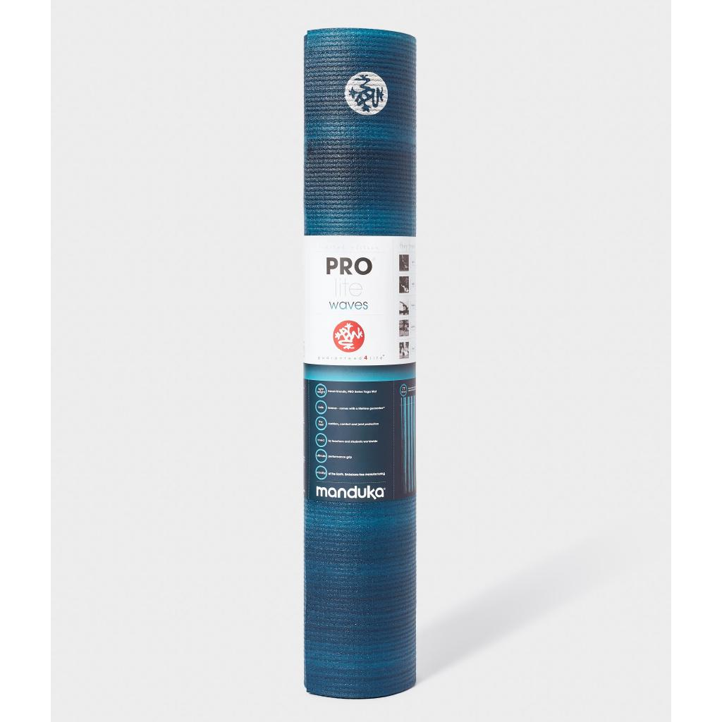 Review Manduka เสื่อโยคะ Manduka รุ่น PROlite® yoga mat 4.7mm (Limited - Color Fields) - Waves (71