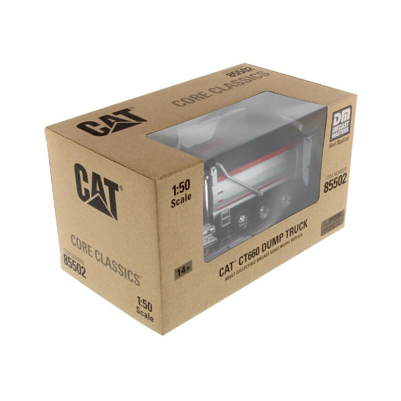 CAT CATERPILLAR CT660 DUMP TRUCK RED 1//50 MODEL BY DIECAST MASTERS 85502 C