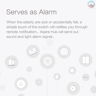 Xiaomi Aqara Wireless Mini Switch Zigbee Remote Control Smart Home Appliances