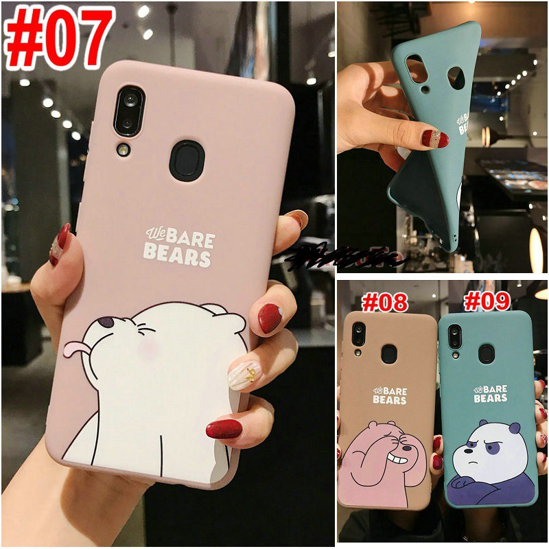 เคส Samsung J8 J7 J6 J6+ J5 J4 J4+ J2 A9 A7 A10s A20s M31 M30s M21 M20 Note 9 8 S10 Plus Prime Pro 2018 Cute Cartoon Bear Soft case