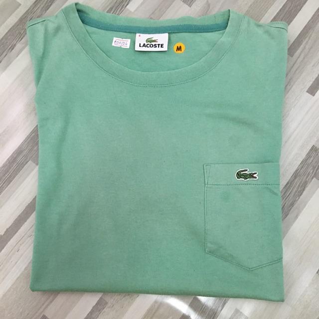Lacoste เสื้อยืด แท้ มือสอง เสื้อยืดผู้ชาย