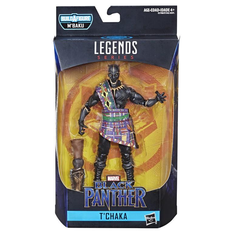 "Marvel Legends Black Panther Series 2 6/"" t/'chaka Figure"
