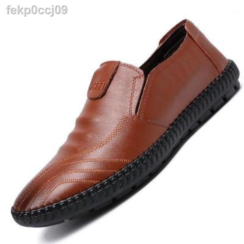 รองเท้าผู้ชายรองเท้าหนังชายรองเท้าหนังชายรองเท้าคัชชู ผชcasual Shoes Men