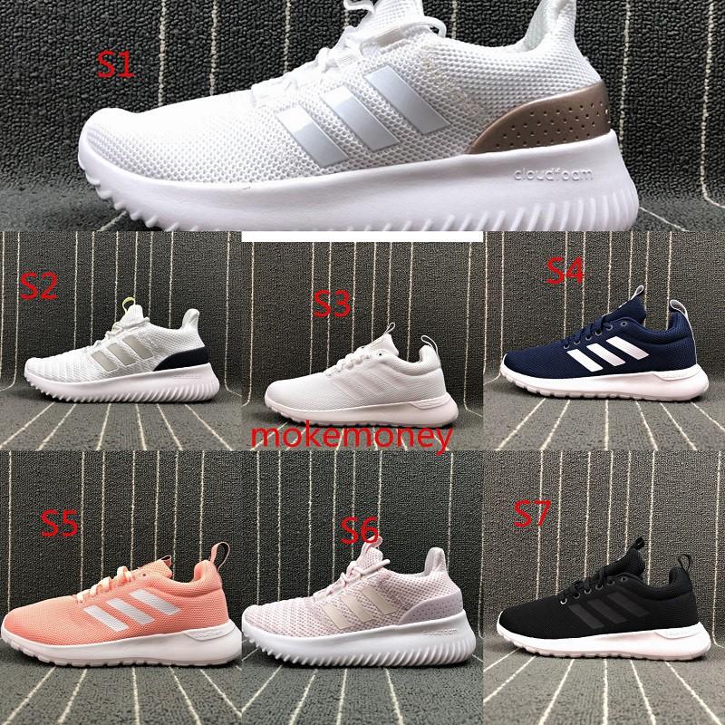 [fuwang]Full Adidas Neo Cloudfoam Ultimate รองเท้าผ้าใบลําลองสําหรับผู้ชายผู้หญิงเหมาะกับการเล่นกีฬา