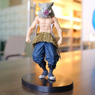 ของเล่นโมเดลหุ่น Model Demon slayer kimetsu No yaiba hashibira inosuke Figure gift