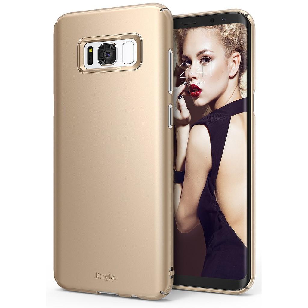 เคส Rearth Ringke Slim Case for Galaxy S8 Plus - Gold ของแท้สินค้านำเข้า