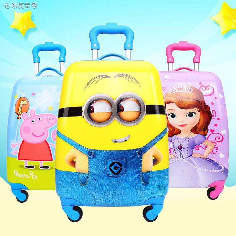 กระเป๋าเดินทาง ล้อลาก 4 ล้อ 16 นิ้ว 18 นิ้ว 19 นิ้ว สำหรับเด็ก