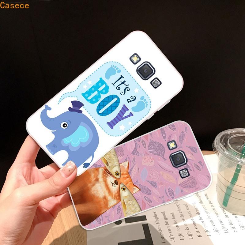 ET-Samsung A3 A5 A6 A7 A8 A9 Star Pro Plus E5 E7 2016 2017 2018 Cat Soft Silicon TPU Case Cover