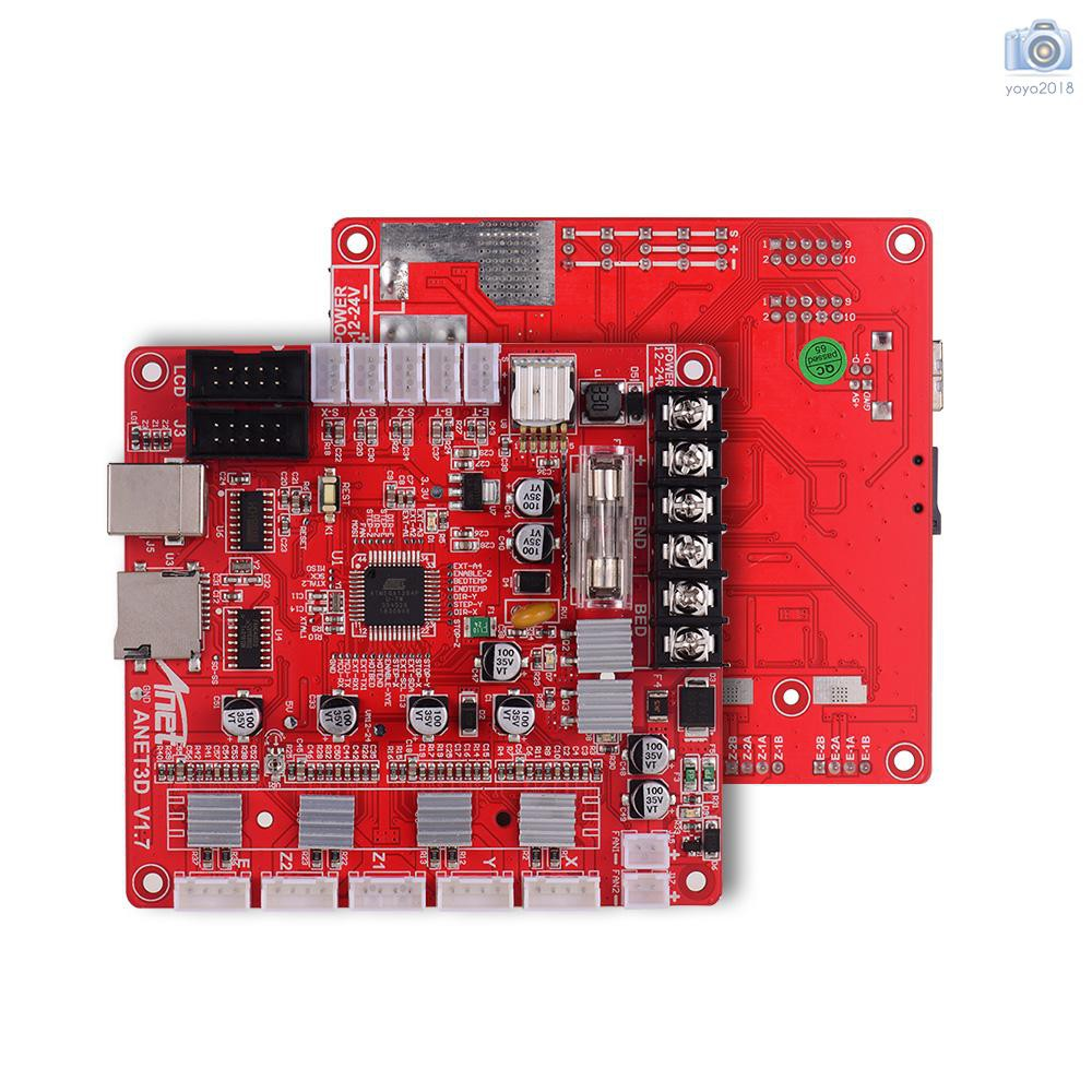 Anet A1284-Base V1.7 Control Board Mother Board for Anet A8 3D Printer