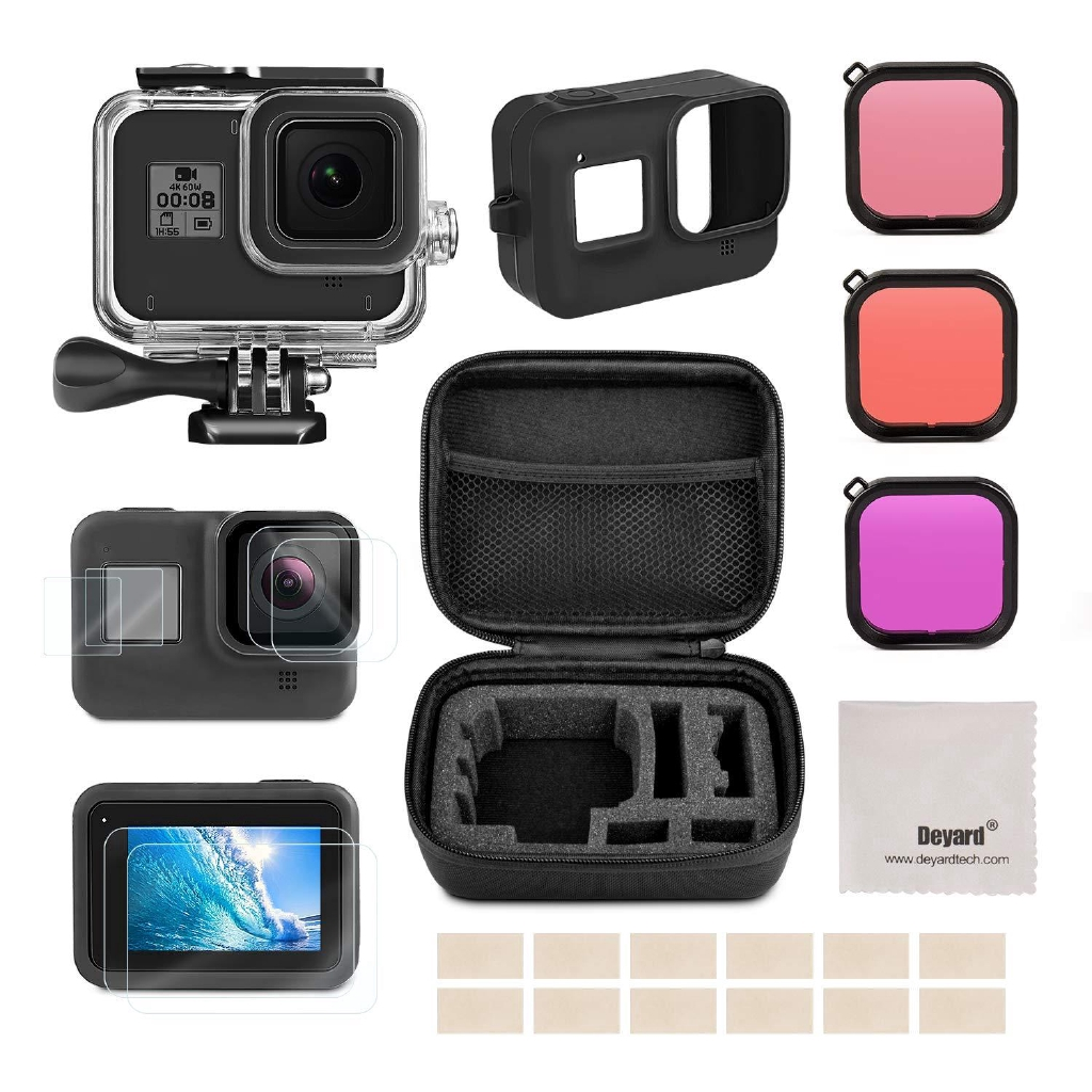 Portable Storage Case Shockproof Protective Box for GoPro Hero 8 7 6 5 Camera