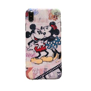 Image # 8 of Review เคสไอโฟน iPhone X XS Max XR iPhone 7 8 Plus iPhone 6 6S Plus Cartoon Mickey & Minnie Matte Soft Case
