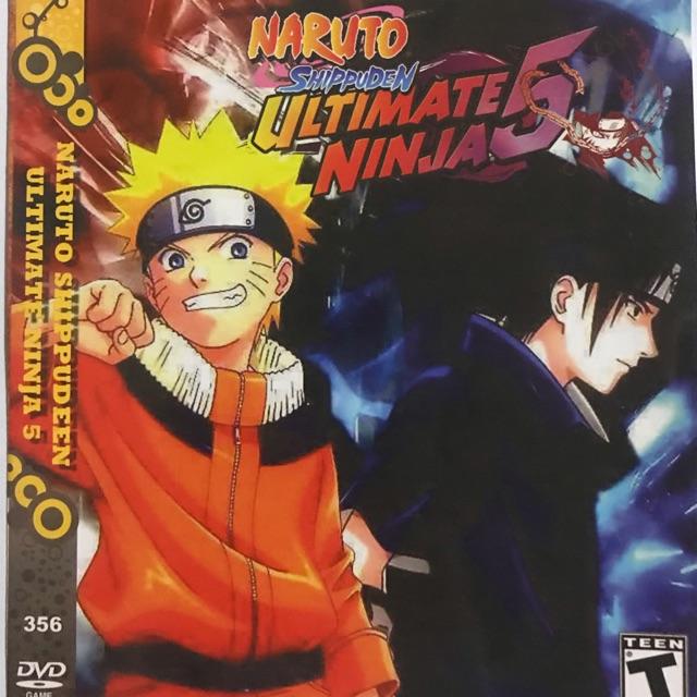 แผ่นเกมส์ ps2 Naruto Shippuden Ultimate Ninja 5