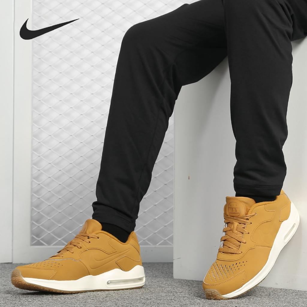 Nike Air Max 90 รองเท้าผ้าใบสีดําขาวน้ําหนักเบา