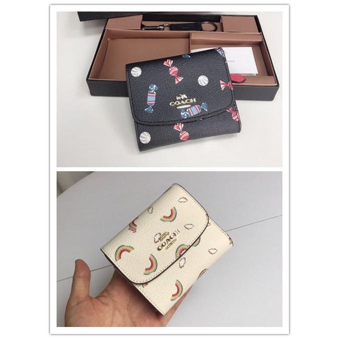 กระเป๋าสตางค์ Coach แท้ F73479 73481 กระเป๋าสตางค์ผู้หญิง * กระเป๋าเงิน * กระเป๋าตัง * กระเป๋าสตางค์ใบสั้น