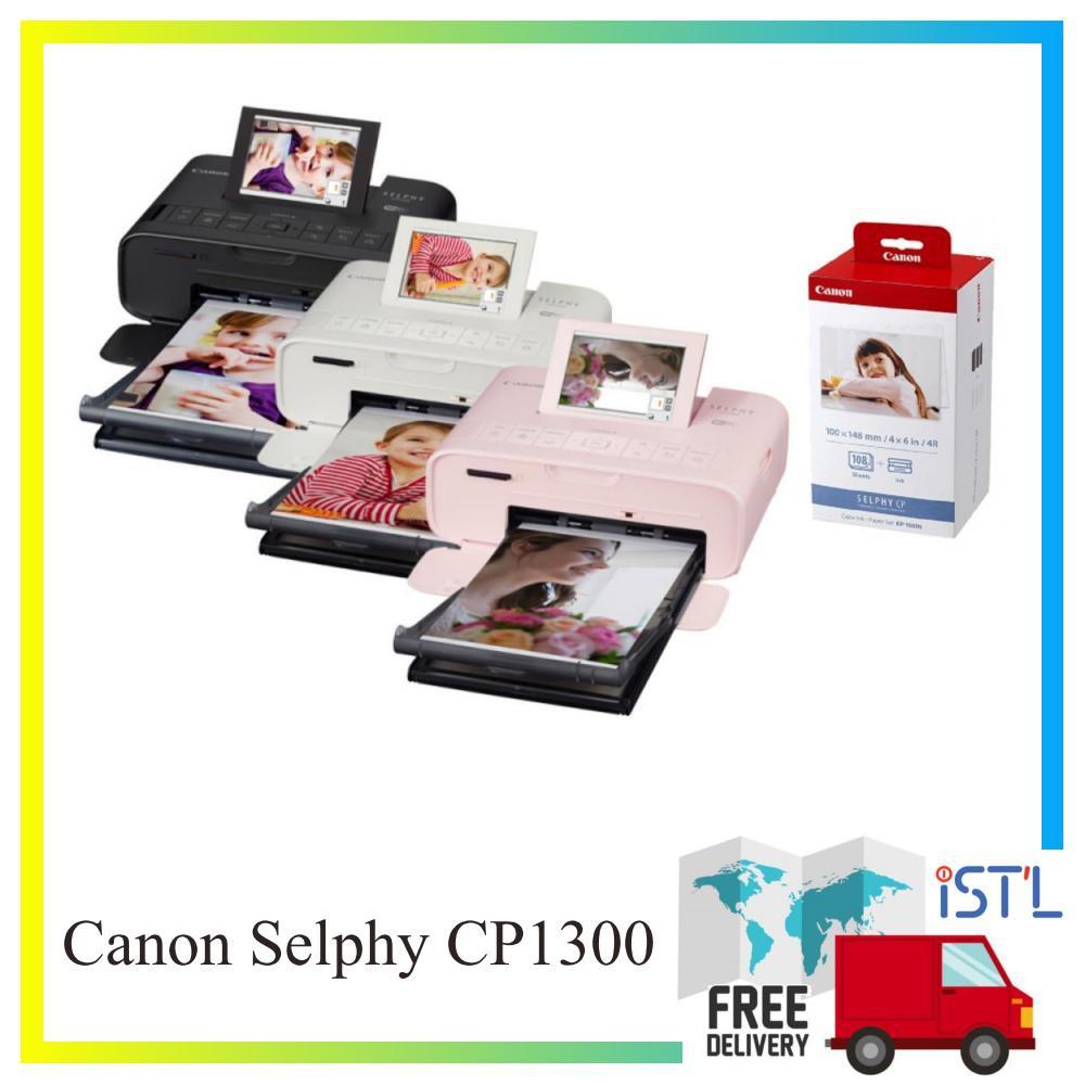 Canon SELPHY CP1300 เครื่องปริ้นรูป แบบพกพา