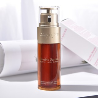 Review CLARINS Double Serum สูตรใหม่ (50ml.) Complete Age Control Concentrate