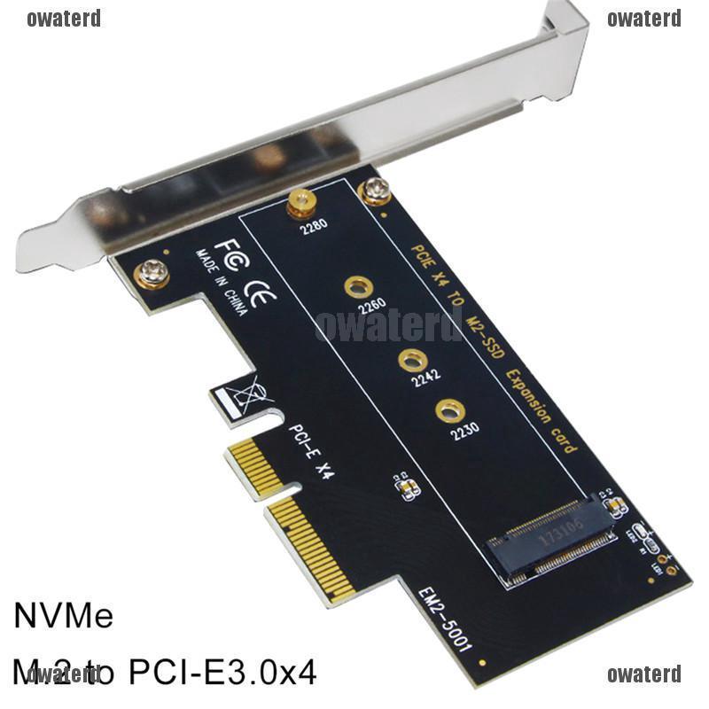 PCI-e3.0x4 Expansion M2 NGFF M Key SSD EM2-5001 High-Performance NVME M.2