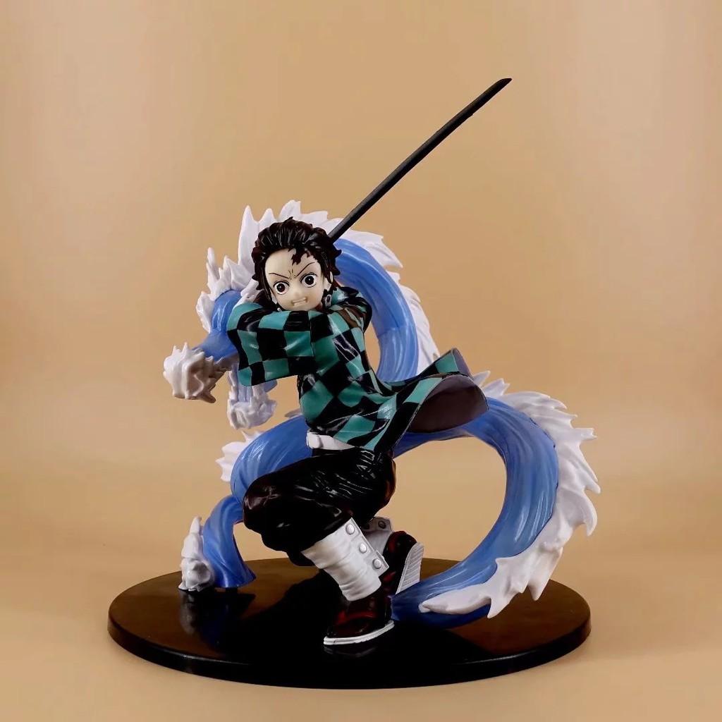 ☽อะนิเมะ The Blade of Demon Slayer Tanjirou Lives and Turns 1/8 Boxed Figure Cake Model