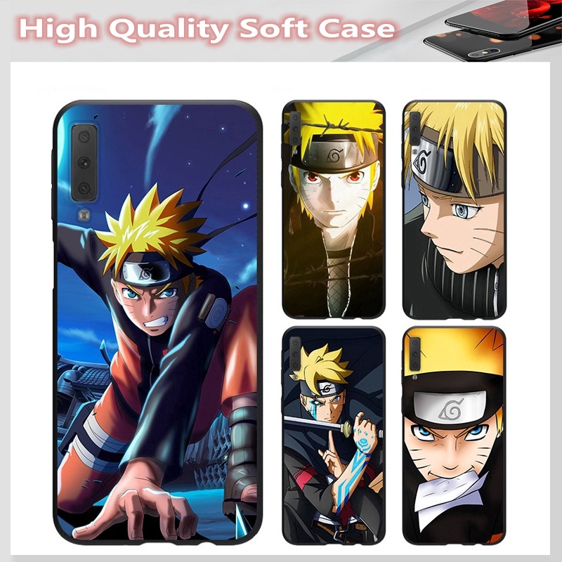 casing for SAMSUNG A6 A6+ A7 A8 A8+ A8 Star A9 2018 A2 CORE J7 Pro J7 PLUS Cover Naruto Soft Case