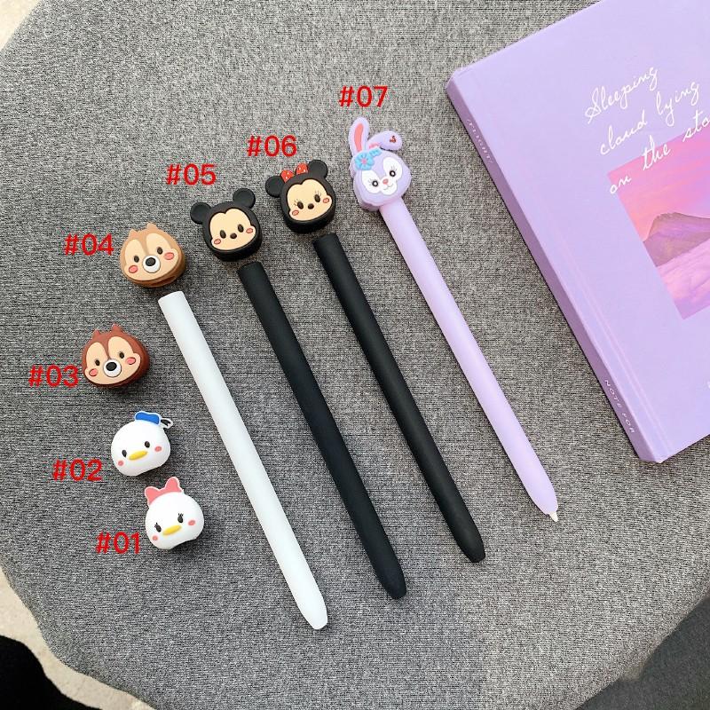 เคสซิลิโคนลายการ์ตูนน่ารักสําหรับ Apple Pencil Case Ipencil 1 2nd