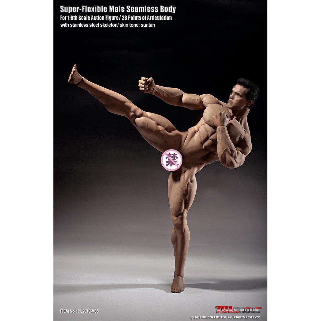 1:6 Scale Men/'s Male Classic Jeans Denim Pants F 12/'/' Muscular Figure Body S06