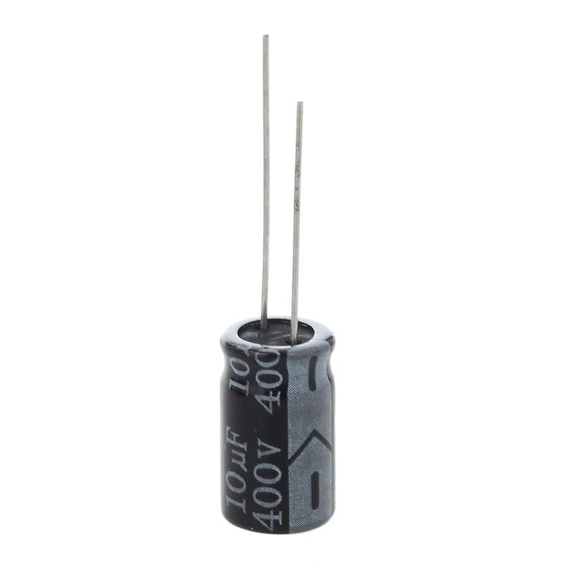 10 x 400 V 10 uF Low ESR Impedance Electrolytic Capacitor