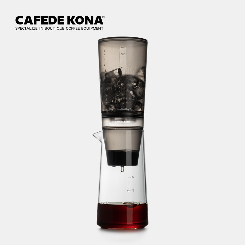 ☑☞CAFEDE KONA เครื่องทำกาแฟหยดน้ำแข็งเครื่องกรองน้ำหยดเครื่องชงกาแฟแบบเย็นหม้อสกัดเย็นหม้อหยดน้ำแข็งเครื่องชงกาแฟ