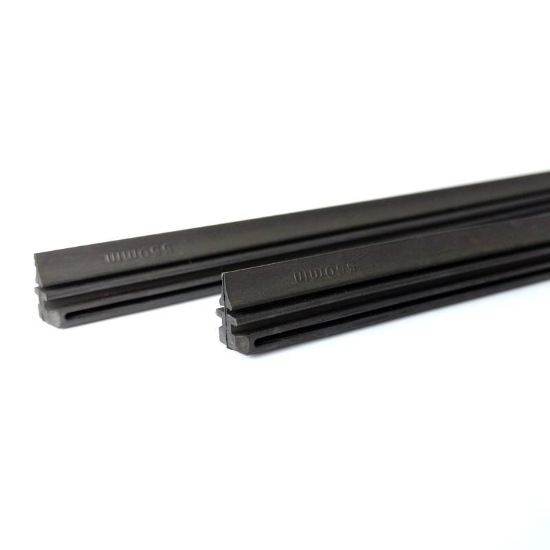 ยางปัดน้ำฝน ซิลิโคน refill กว้าง6mm(ยาว650mm) กว้าง8mm(ยาว700mm) สำหรับรถยนต์ทุกรุ่น Wiper rubber refill
