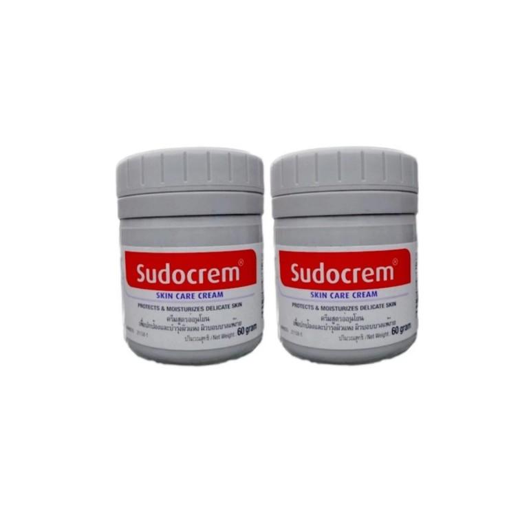 Sudocrem ซูโดเครม ซูโดครีม cream ผด ผื่น ผิวแห้ง แพ้ Sudo cream 60g | Shopee Thailand