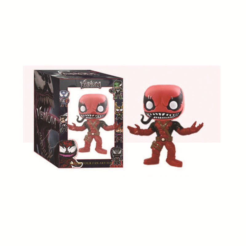 funko pop 10Paragraph MarvelMarvel VenomVenom Garage Kit Model Toy Revenge4 figure